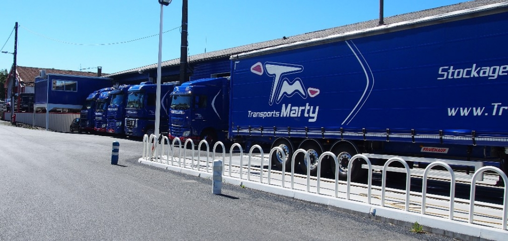 Transports MARTY - transports et stockage à Lacrouzette, proche Castres (Tarn)