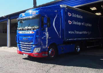Tracteur routier - Transports MARTY