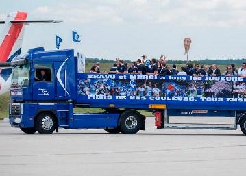 Transports MARTY soutient le Castres Olympique.